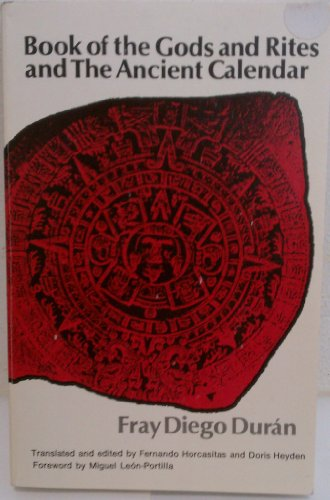 9780806112015: Book of the Gods and Rites and the Ancient Calendar