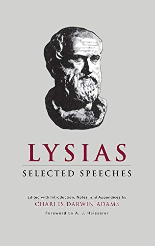 9780806113968: Lysias: Selected Speeches (Oklahoma Series in Classical Culture Series)