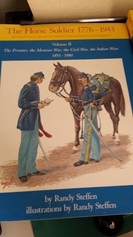 9780806114507: Horse Soldier, 1776-1943, Us Cavalryman His Uniforms, Arms, Accoutrements, and Equipments. Vol 2: The Frontiers, the Mexican War, the Civil War, the (United States Cavalryman Series, His)
