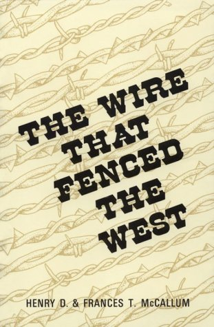 9780806115597: The Wire That Fenced the West