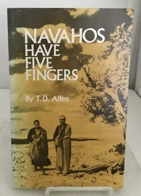 9780806117652: Navahos Have Five Fingers (Civilization of American Indian)