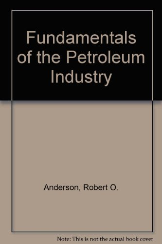 Fudamentals Of The Petroleum Industry