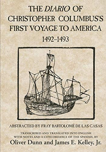 9780806121017: The Diario of Christopher Columbus's First Voyage to America 1492-1493