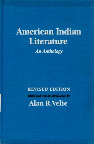 American Indian literature : an anthology.