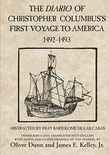 9780806123844: The Diario of Christopher Columbus's First Voyage to America, 1492–1493 (American Exploration and Travel Series)