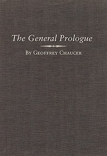 9780806125527: The General Prologue: Part One A and Part One B: General Prologue Pt.1A & B (Variorum Chaucer)