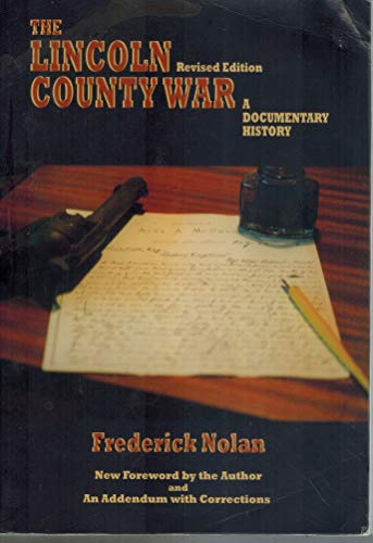 9780806126074: The Lincoln County War: A Documentary History