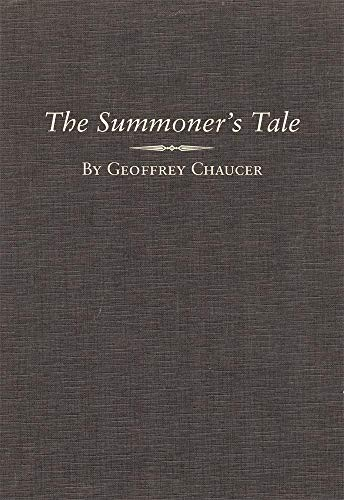 A Variorum Edition of The Works of Geoffrey Chaucer, Volume II, The Canterbury Tales Part Seven, The Summoners Tale. - Chaucer, Geoffrey