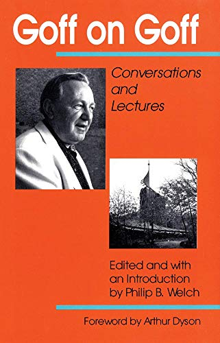 9780806128689: Goff on Goff: Conversations and Lectures
