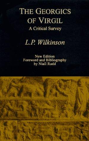 9780806129679: The Georgics of Virgil: A Critical Survey