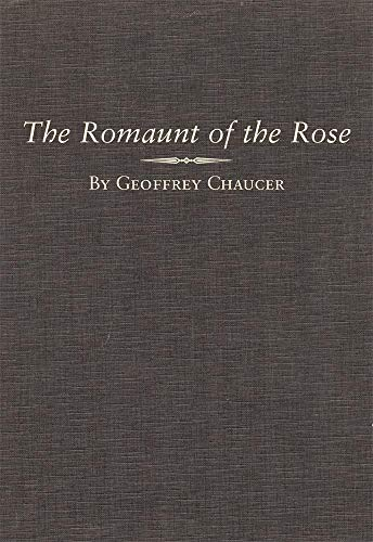 9780806131474: The Romaunt of the Rose (Variorum Chaucer Series)