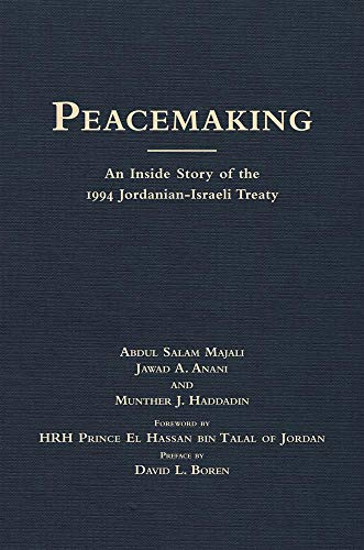 9780806137650: Peace-making: The Inside Story of the 1994 Jordanian-Israeli Treaty (International and Security Affairs Series)