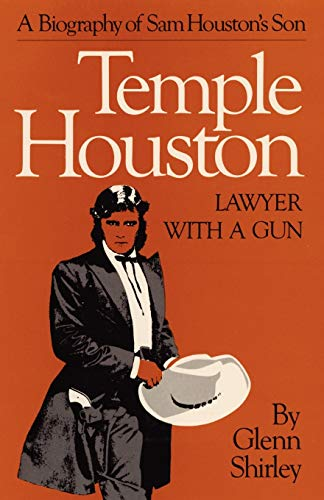 9780806141312: Temple Houston: Lawyer with a Gun