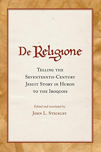 De Religione: John L. Steckley