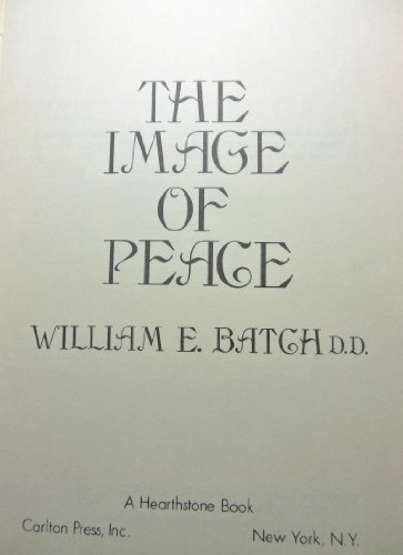 9780806207339: The Image of Peace