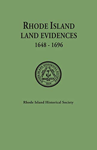 9780806303918: Rhode Island Land Evidences : Volume I, 1648-1696, Abstracts (all published). With a Preface by Albert T. Klyberg
