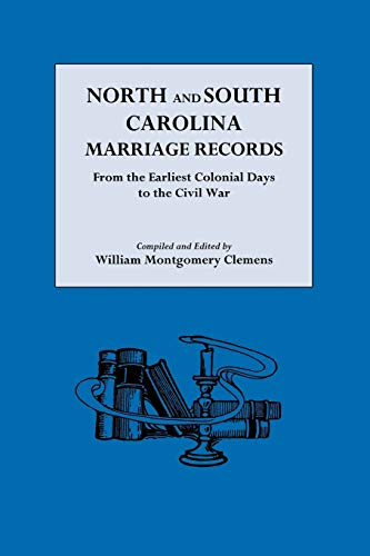 9780806305554: North and South Carolina Marriage Records
