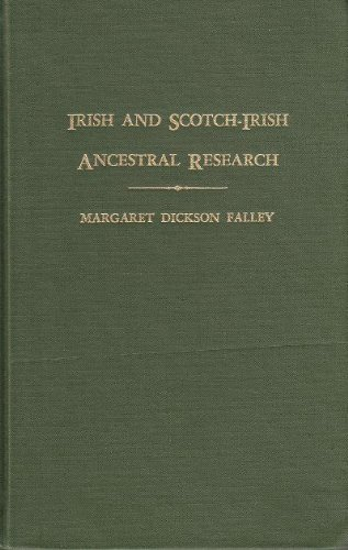 9780806309163: Irish and Scotch-Irish Ancestral Research: A Guide to the Genealogical Records, (2 Volume Set)
