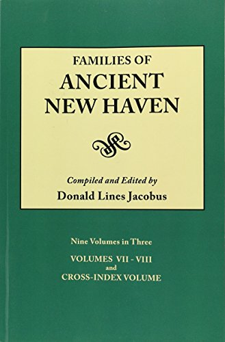9780806309538: Families of Ancient New Haven (9 Volumes bound as 3)
