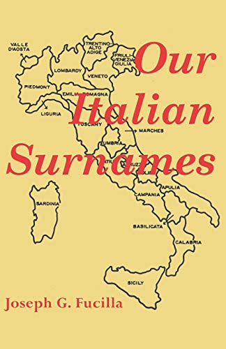 9780806311876: Our Italian Surnames