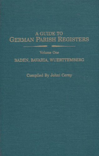 9780806312019: Guide to German Parish Registers