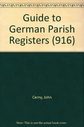9780806312149: Guide to German Parish Registers (916)