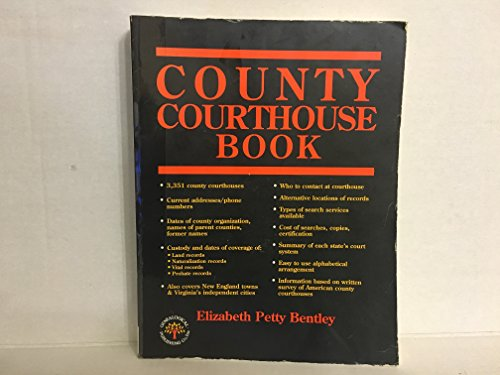 9780806312842: County Courthouse Book