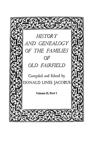 History and Genealogy of the Families of: Jacobus, Donald Lines