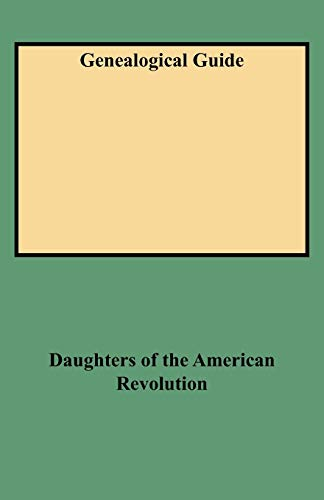 9780806313993: Genealogical Guide Master Index of Genealogy in the Daughters of the American