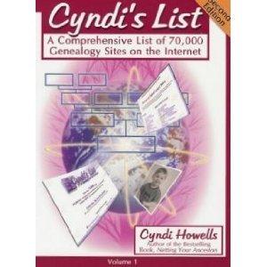 9780806316819: Cyndi's List: A Comprehensive List of 70,000 Genealogy Sites on the Internet