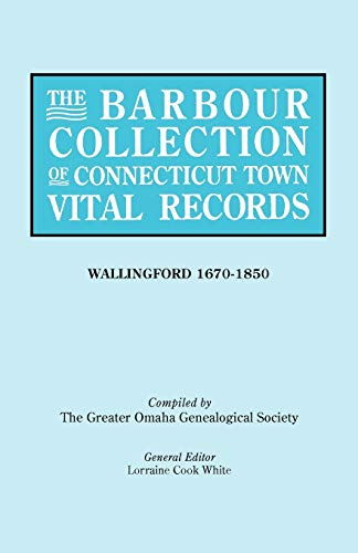 9780806316963: The Barbour Collection of Connecticut Town Vital Records [Vol. 48]