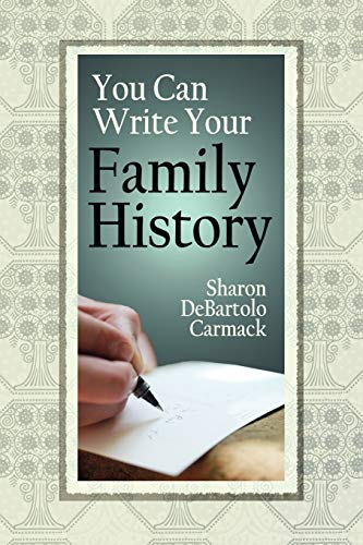 9780806317830: You Can Write Your Family History