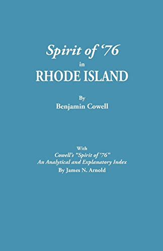 Spirit of '76 in Rhode Island [Published] with Cowell's Spirit of '76: An Analytical ...