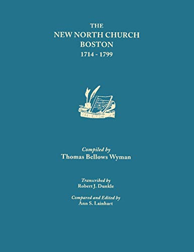 9780806345833: The New North Church, Boston [1714-1799] (#9592)