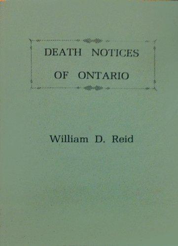 9780806346823: Death Notices of Ontario
