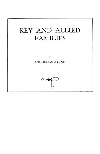 9940) Key and Allied Families: Lane
