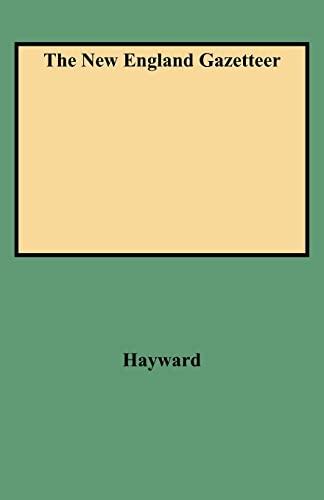 9780806351636: The New England Gazetteer