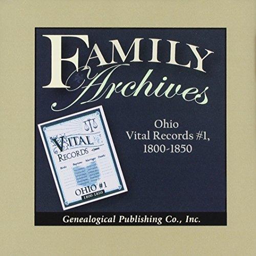Ohio Vital Records No 1, 1800-1850