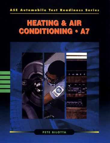 9780806420172: ASE Automobile Test Readiness Series : Heating & Air Conditioning - A7