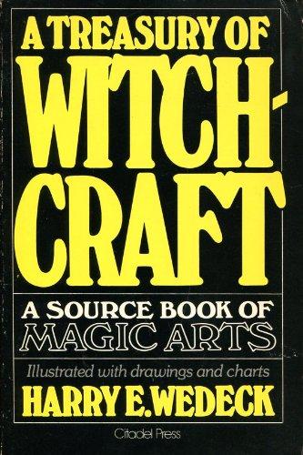 9780806500386: Treasury of Witchcraft: Sourcebook of Magic Arts
