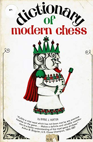 9780806501734: Dictionary of Modern Chess