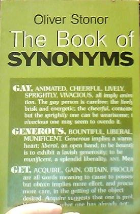 9780806501918: The Book of Synonyms