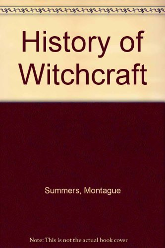 9780806502090: History of Witchcraft
