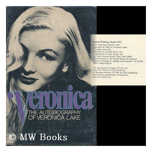 9780806502250: Veronica: The Autobiography of Veronica Lake