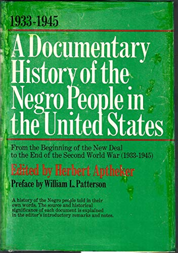 9780806504384: A Documentary History Of The Negro People In The United States Volume 3