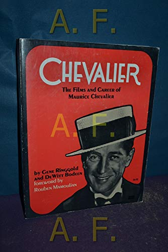 9780806504834: Chevalier: The Films and Career of Maurice Chevalier