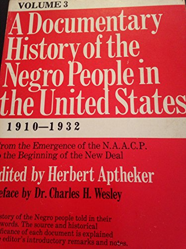 9780806506029: Documentary History of the Negro People in the United States: From the Alabama Protests to the Death of Martin Luither King Jr.