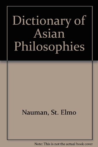 9780806506173: Dictionary of Asian Philosophies
