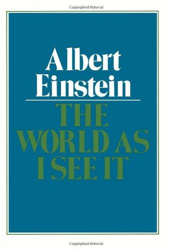 The World As I See It: Albert Einstein, Alan Harris (Translator)