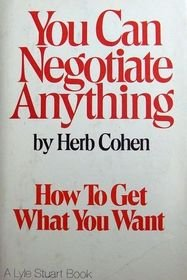 9780806508467: You Can Negotiate Anything